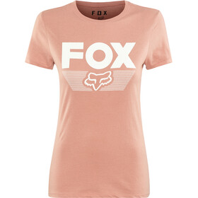 Fox Ascot SS Crew Shirt Damen blush